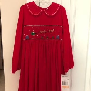New with tags girls Christmas dress. Size 6x.